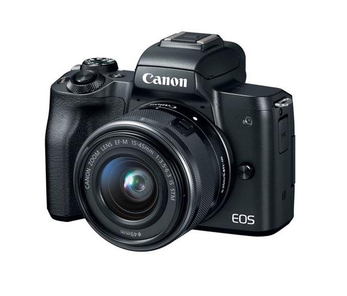 EOS M50 zwart + 15-45mm IS STM